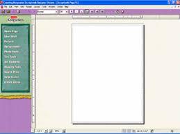 creating a scrapbook
