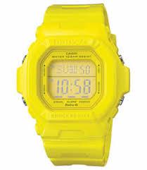 casio baby g yellow