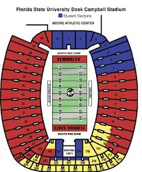 doak campbell stadium map