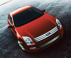 red ford fusion