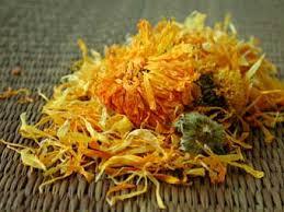 dried calendula