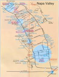 map of napa wineries