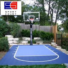 backyard court