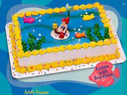 ariel cake decorating