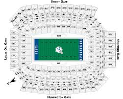 lucas oil stadium map