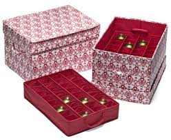 christmas ornament box