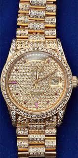 gold diamond rolex