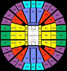 key arena seating charts