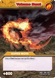 dinosaur king move cards