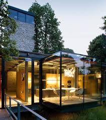 glass home