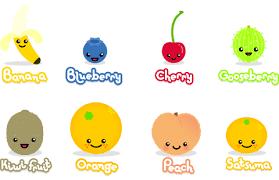 cartoon pictures of fruit