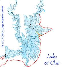 lake saint clair map