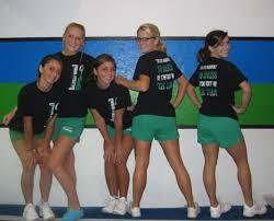cheerleading practice clothes
