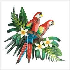 parrot wall decor