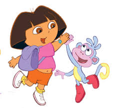 dora the explorer boots the monkey