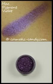 mac pigment violet