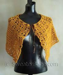 crocheted cape pattern