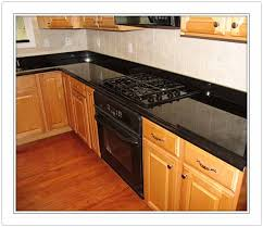absolute black granite countertop
