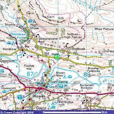 hawes map