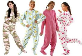 footie pyjamas