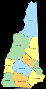 county map of nh