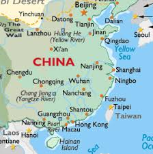 map of south east china