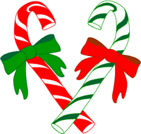 candy cane graphic