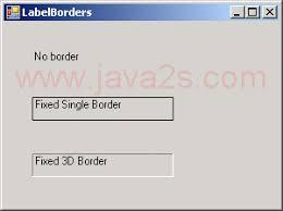 label border