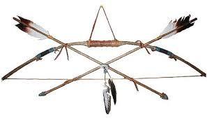 indian bows and arrows