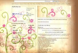 butterfly myspace profiles