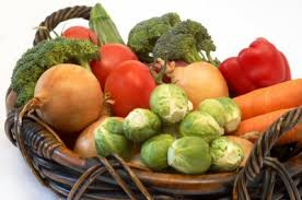 food and vegetables