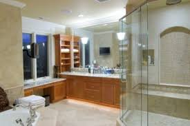 built in shower seat