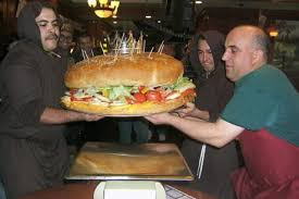 biggest hamburger