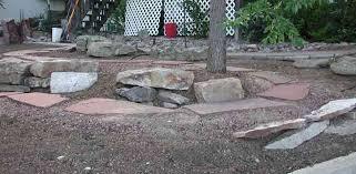 backyard rocks