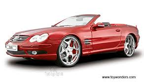 red benz