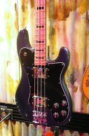 fender bass custom shop