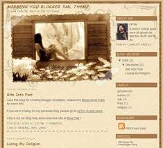 free blogspot templates