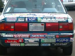 anti war bumper stickers