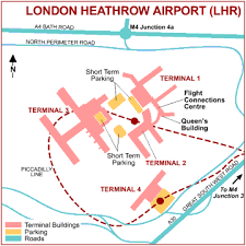 airport map london