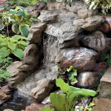 pond waterfall pics