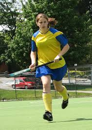 field hockey player