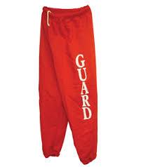lifeguard pants