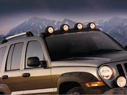 jeep commander light bar