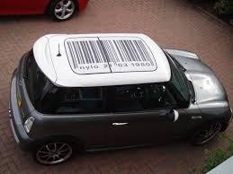 mini roof decal