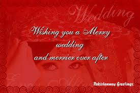 greeting for wedding