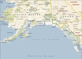 map of southern alaska