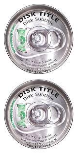 cd label graphics
