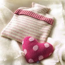 pink hot water bottles