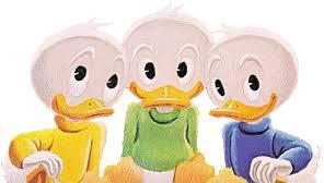 sobrinos del pato donald