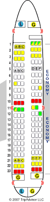 boeing 737 700 seating chart